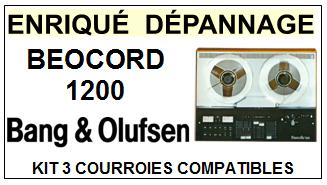 BANG OLUFSEN-BEOCORD 1200-COURROIES-ET-KITS-COURROIES-COMPATIBLES