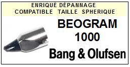 BANG OLUFSEN BEOGRAM 1000<br>  Pointe sphérique (stylus) pour tourne-disques <BR><small>sce 2015-05</small>