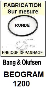 BANG OLUFSEN BEOGRAM 1202  Courroie Tourne-disques <small>13-11</small>