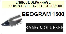 BANG OLUFSEN Platine BEOGRAM 1500  Pointe diamant sphérique <small>13-07</small>