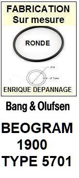 BANG OLUFSEN-BEOGRAM 1900 TYPE 5701-COURROIES-ET-KITS-COURROIES-COMPATIBLES