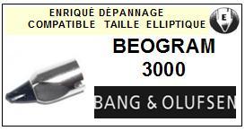 BANG OLUFSEN Platine  BEOGRAM 3000 Pointe de lecture compatible diamant elliptique<br>sce 13-12