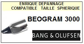 BANG OLUFSEN Platine BEOGRAM 3000  Pointe diamant sphérique <BR><small>sce 13-12</small>