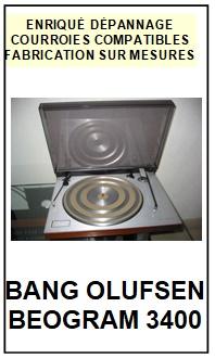 BANG OLUFSEN-BEOGRAM 3400-COURROIES-ET-KITS-COURROIES-COMPATIBLES