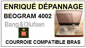 BANG OLUFSEN-BEOGRAM 4002-COURROIES-ET-KITS-COURROIES-COMPATIBLES
