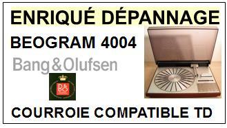 BANG OLUFSEN-BEOGRAM 4004-COURROIES-ET-KITS-COURROIES-COMPATIBLES