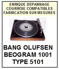 BANG OLUFSEN-BEOGRAM 1001 TYPE 5101 TT-860B-COURROIES-ET-KITS-COURROIES-COMPATIBLES