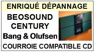 BANG OLUFSEN-BEOSOUND CENTURY TYPE 2652 (OUVERTURE TR-COURROIES-ET-KITS-COURROIES-COMPATIBLES