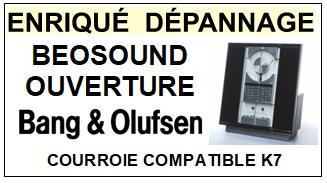 BANG OLUFSEN-BEOSOUND OUVERTURE-COURROIES-ET-KITS-COURROIES-COMPATIBLES