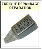 BANG OLUFSEN CELLULE  MMC4000   Réparation : échange cantilever alu et pose  Diamant nude elliptique