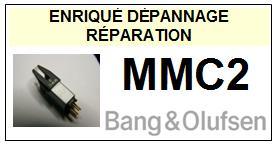 BANG OLUFSEN POINTE  MMC2    Réparation : échange cantilever alu et pose  Diamant Elliptique