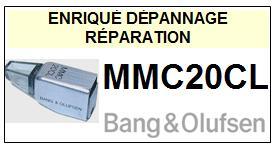 BANG OLUFSEN POINTE  MMC20CL    Réparation : échange cantilever alu et pose  Diamant nude contact line