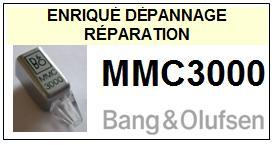 BANG OLUFSEN CELLULE  MMC3000  Réparation : échange cantilever alu et pose  Diamant Sphérique <br>a 2014-04