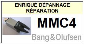 Pointe BANG OLUFSEN   MMC4    Réparation : échange cantilever alu et pose  Diamant Elliptique