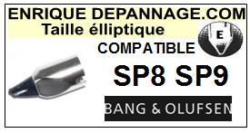 BANG OLUFSEN SP8  Pointe de lecture compatible diamant Elliptique