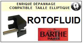 BARTHE-ROTOFLUID MONTAGE3-POINTES-DE-LECTURE-DIAMANTS-SAPHIRS-COMPATIBLES