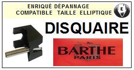 BARTHE Platine DISQUAIRE  Pointe diamant elliptique <BR><small>se 2014-01</small>