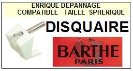 BARTHE Platine DISQUAIRE  Pointe diamant sphérique <BR><small>se 2014-02</small>