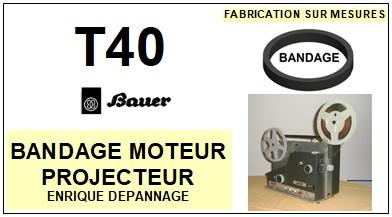 BAUER-T40-COURROIES-ET-KITS-COURROIES-COMPATIBLES