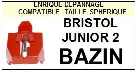 BAZIN<br> BRISTOL JUNIOR 2 Pointe sphérique pour tourne-disques <BR><small>a 2015-01</small>