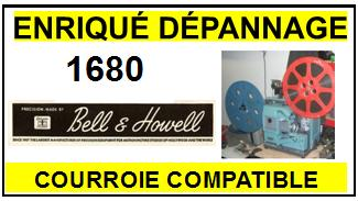 BELL HOWELL-1680-COURROIES-ET-KITS-COURROIES-COMPATIBLES