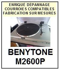 BENYTONE-M2600P-COURROIES-ET-KITS-COURROIES-COMPATIBLES