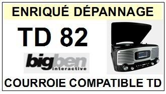 BIGBEN INTERACTIVE-TD82-COURROIES-ET-KITS-COURROIES-COMPATIBLES