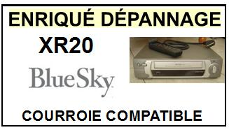 BLUESKY-xr20-COURROIES-ET-KITS-COURROIES-COMPATIBLES