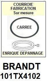 BRANDT 101TX4102  <BR>Courroie carrée référence brandt (<B>square belt</B> manufacturer number)<small> 2018 JANVIER</small>