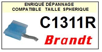 BRANDT C1311R  <br>Pointe sphérique pour tourne-disques (<B>sphérical stylus</b>)<SMALL> 2016-01</SMALL>