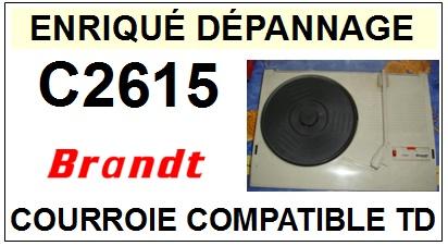 BRANDT-C2615-COURROIES-ET-KITS-COURROIES-COMPATIBLES