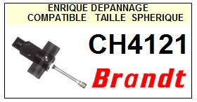BRANDT <br>Platine CH4121 Pointe diamant sphérique <BR><small>a 2014-11</small>