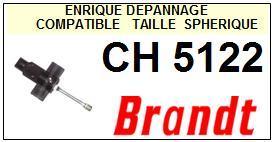 BRANDT<br> CH5122  Pointe sphérique pour tourne-disques<BR><small>a 2015-05</small>