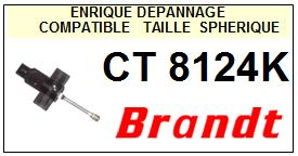 BRANDT Platine CT8124K  Pointe diamant sphérique <BR><small>a 2014-03</small>