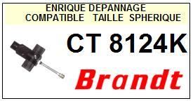BRANDT Platine CT8124K  Pointe diamant sphérique <BR><small>a 2014-03</small>