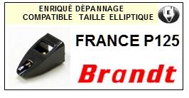 BRANDT-FRANCE P125-POINTES-DE-LECTURE-DIAMANTS-SAPHIRS-COMPATIBLES