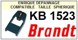 BRANDT Platine KB1523 KB-1523 Pointe diamant sphérique <small>13-06</small>