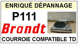 BRANDT-P111-COURROIES-ET-KITS-COURROIES-COMPATIBLES