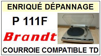 BRANDT-P111F-COURROIES-ET-KITS-COURROIES-COMPATIBLES