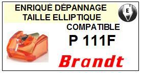 BRANDT Platine  P111F    Pointe de lecture compatible diamant elliptique