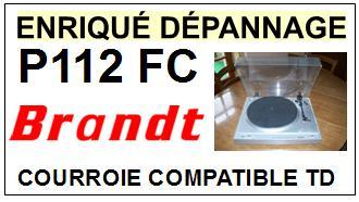 BRANDT-P112FC-COURROIES-ET-KITS-COURROIES-COMPATIBLES
