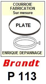 BRANDT-P113-COURROIES-ET-KITS-COURROIES-COMPATIBLES