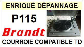 BRANDT-P115-COURROIES-ET-KITS-COURROIES-COMPATIBLES