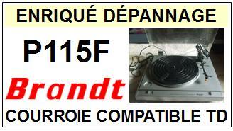 BRANDT-P115F-COURROIES-ET-KITS-COURROIES-COMPATIBLES