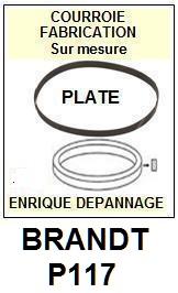 BRANDT-P117-COURROIES-ET-KITS-COURROIES-COMPATIBLES