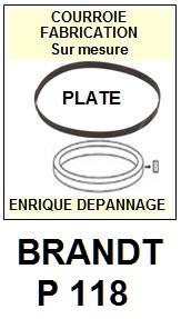 BRANDT-P118-COURROIES-ET-KITS-COURROIES-COMPATIBLES