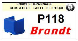 BRANDT<br> P118  Pointe diamant elliptique <BR><small>se 2015-03</small>