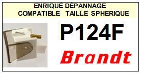 BRANDT<br> P124F  Pointe sphérique pour tourne-disques<BR><small>sc 2015-02</small>