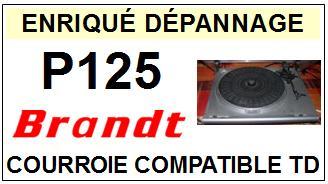 BRANDT-P125-COURROIES-ET-KITS-COURROIES-COMPATIBLES