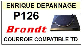 BRANDT-P126-COURROIES-ET-KITS-COURROIES-COMPATIBLES